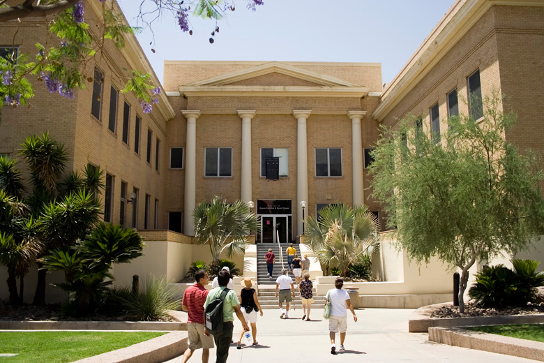 The School of Human Evolution and Social Change on ASU's Tempe campus